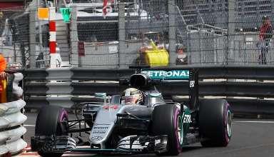 Lewis Hamilton Mercedes W07 Hybrid Monaco GP F1 2016 Foto f1fanatic