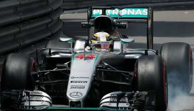 Lewis Hamilton Mercedes W07 Hybrid Monaco GP wheel locking F1 2016 Foto f1fanatic