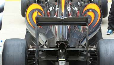 McLaren Honda MP4-31 rear end pitlane Spain GP Barcelona F1 2016 foto motorsportmagazine