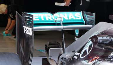 Mercedes-W07-Hybrid-monkey-seat-Spain-GP Barcelona-foto-automotorundsport