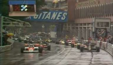 Monaco F1 1984 start screenshot