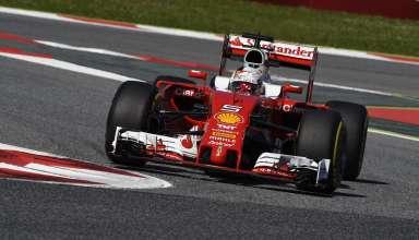 Sebastian Vettel Ferrari SF16-H Spain GP Barcelona F1 2016 final chicane Foto Ferrari