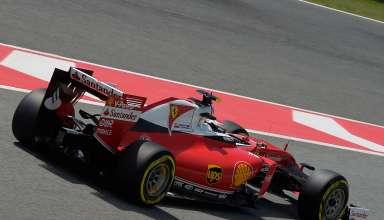 Sebastian Vettel Ferrari SF16-H Spain GP Barcelona pit exit F1 2016 Foto Ferrari