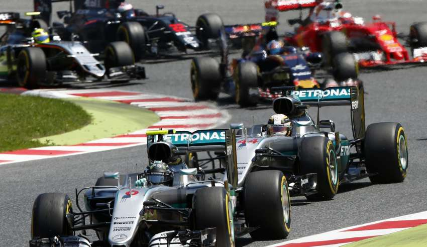 Start of the Spanish GP F1 2016 Foto Mercedes