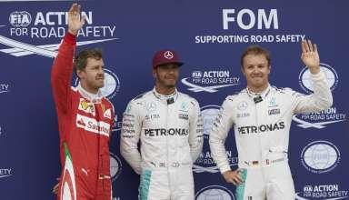 Canada GP F1 2016 top3 qualy Foto Mercedes