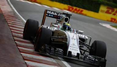 Felipe Massa Williams Mercedes FW38 Canada GP F1 2016 second chicane Foto Williams