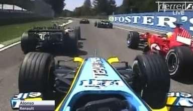 Fernando Alonso Renault R26 San Marino GP Imola F1 2006 Screenshot