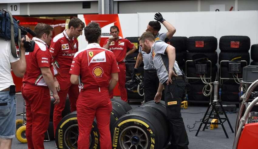 Ferrari Pirelli F1 European GP Baku F1 2016 Foto Pirelli