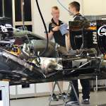 Force India VJM09 Mercedes no engine cover European GP Baku F1 2016 Foto Auto Motor und Sport