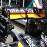 Force India VJM09 Mercedes rear wing European GP Baku F1 2016 Foto Auto Motor und Sport