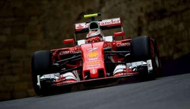 Kimi Raikkonen Ferrari SF16-H European GP Baku City Circuit F1 2016 Foto Ferrari