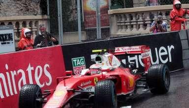 Kimi Raikkonen Ferrari SF16-H Monaco GP F1 2016 Foto F1 fanatic
