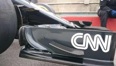 McLaren Honda MP4-31 Canada GP F1 2016 front wing endplate Foto Auto Motor und Sport