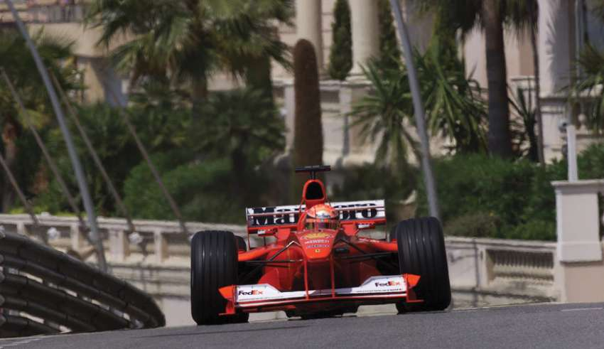 Michael Schumacher Ferrari F1 2000 Monaco GP