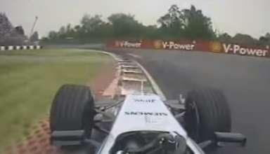 Montoya McLaren Canada F1 2005 onboard screenshot