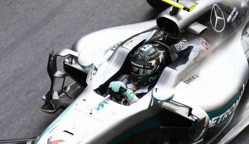 Nico Rosberg Mercedes W07 Hybrid Monaco GP F1 2016 closeup Foto Daimler