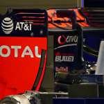Red Bull RB12 TAG Heuer rear wing European GP Baku F1 2016 Foto Auto Motor und Sport