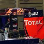 Red Bull RB12 TAG Heuer rear wing side European GP Baku F1 2016 Foto Auto Motor und Sport