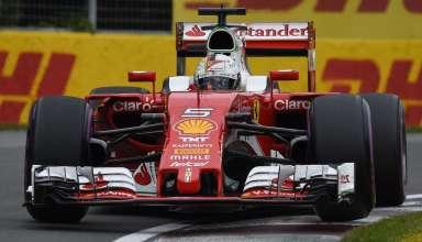 Sebastian Vettel Ferrari SF16-H Canadian GP F1 2016 ultrasoft Foto Ferrari