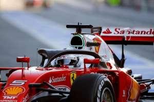 Sebastian Vettel Ferrari SF16-H halo concept cockpit protection test Foto formula1-com