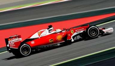 Sebastian Vettel Ferrari Sf16-H Spain GP F1 2016 Foto Ferrari