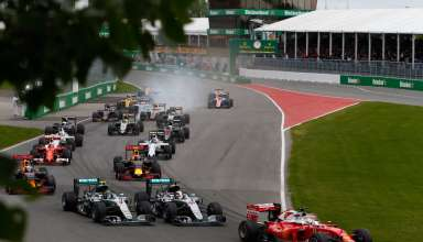 Start of the Canadian GP F1 2016 Foto Mercedes