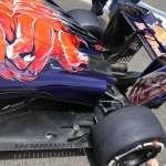 Toro Rosso STR11 Ferrari rear end side view European GP Baku F1 2016 Foto Auto Motor und Sport