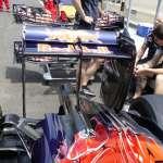 Toro Rosso STR11 Ferrari rear wing European GP Baku F1 2016 Foto Auto Motor und Sport