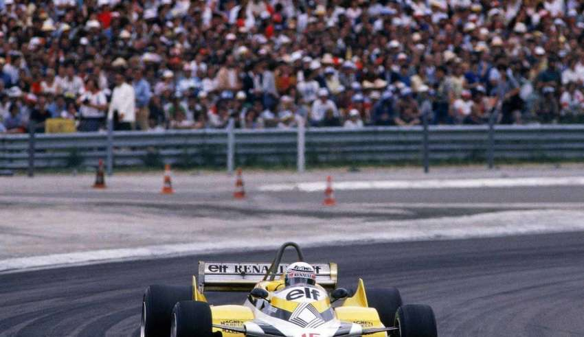 Alain Prost Renault French GP F1 1981 Foto F1fanatic