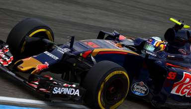 Carlos Sainz Toro Rosso Ferrari STR11 German GP F1 2016 Foto Red Bull