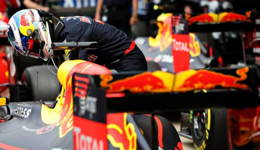 Daniel Ricciardo Red Bull RB12 TAG Heuer British GP Silverstone F1 2016 Foto Red Bull