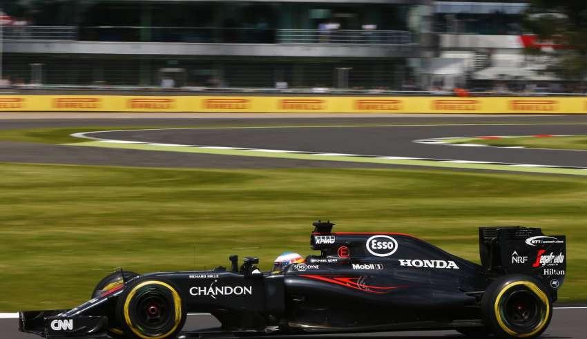 Fernando Alonso McLaren Honda MP4-31