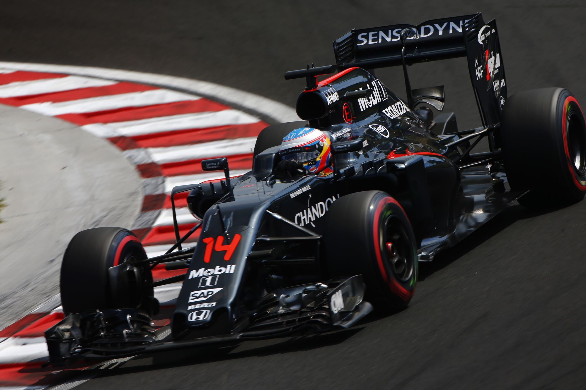 Fernando Alonso McLaren Honda MP4-31 Hungarian GP F1 2016 Foto McLaren