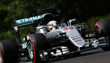 Hamilton Mercedes Hungaroring F1 2016 foto SKY Sports F1