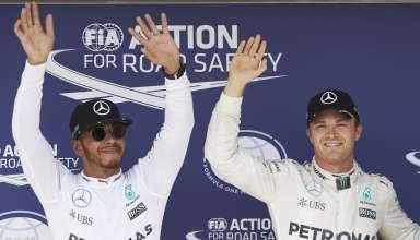 Hamilton Rosberg Hungarian GP F1 2016 Foto Daimler