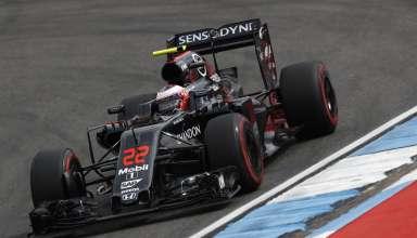 Jenson Button McLaren Honda F1 2016 German GP Foto McLaren