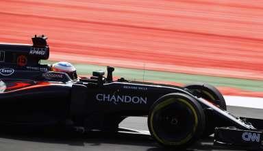 Jenson Button McLaren Honda MP4-31 Austrian GP F1 2016 Foto McLaren