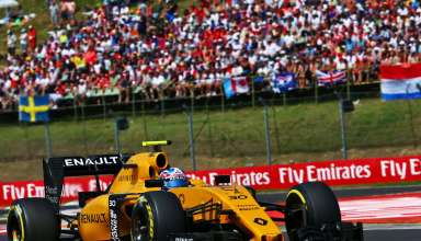 Jolyon Palmer Renault RS16 Hungarian GP F1 2016 Foto F1fanatic