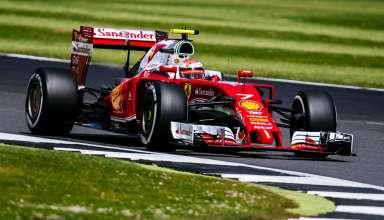 Kimi Raikkonen Ferrari SF16-H Great Britain GP F1 2016 fast corners Foto Ferrari
