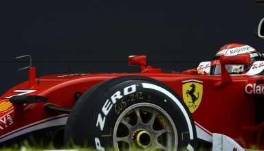 Kimi Raikkonen Ferrari SF16-H Silverstone F1 2016 Foto Ferrari