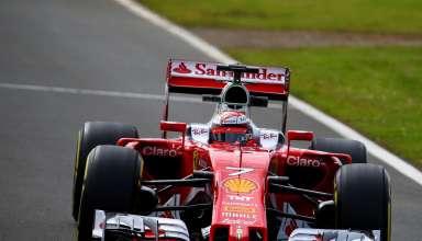 Kimi Raikkonen Ferrari SF16-H Silverstone test F1 2016 Foto f1fanatic