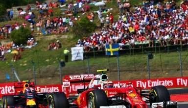 Kimi Raikkonen and Max Verstappen Hungarian GP F1 2016 Foto F1fanatic
