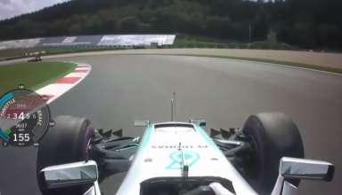 Lewis Hamilton Mercedes W07 Hybrid Austrian GP F1 2016 pole position lap onboard screenshot youtube