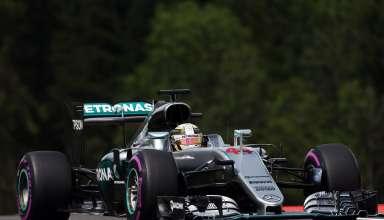 Lewis Hamilton Mercedes W07 Hybrid Austrian GP F1 2016 qualifying ultrasoft Foto Daimler