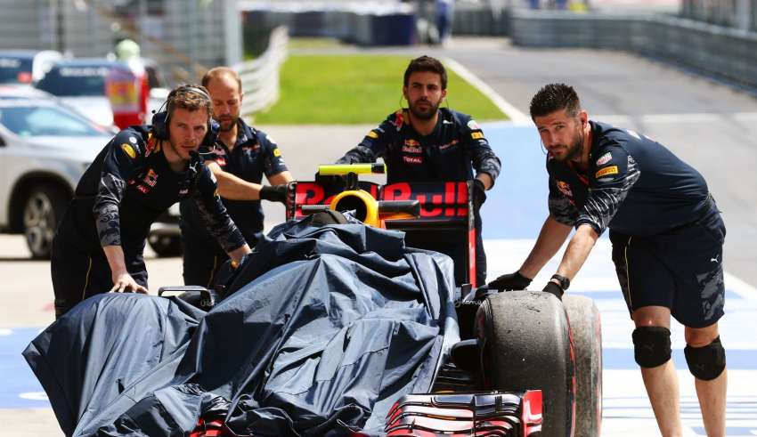 Max Verstappen Red Bull RB12 TAG Heuer Austrian GP F1 2016 Foto Red Bull