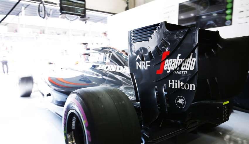 McLaren Honda MP4-31 in garage at the Austrian GP F1 2016 Foto McLaren