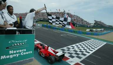 Michael Schumacher French GP F1 2002 Foto Sutton