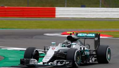 Nico Rosberg Mercedes F1 W07 Hybrid Great Britain GP Silverstone F1 2016 Foto Damler