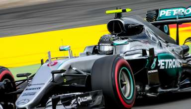 Nico Rosberg Mercedes W07 Hybrid German GP F1 2016 supersoft Foto XPB
