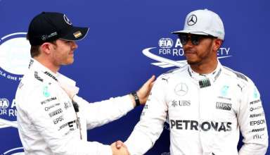 Nico Rosberg and Lewis Hamilton after qualy German GP F1 2016 Foto F1fanatic